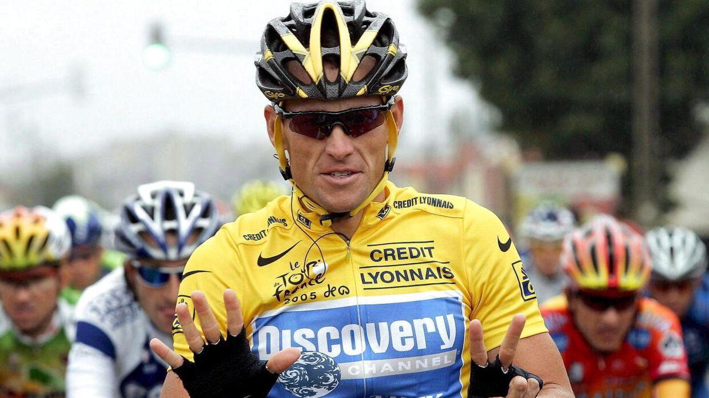 Lance Armstrong, Luke Armstrongs far, er tidligere cykelrytter.