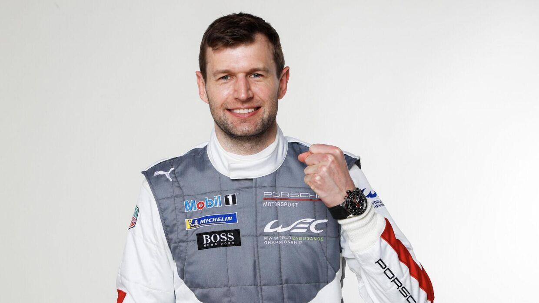 Michael Christensen er tilbage hos Porsche og jagter nu en ny sejr på Le Mans. (pressefoto)