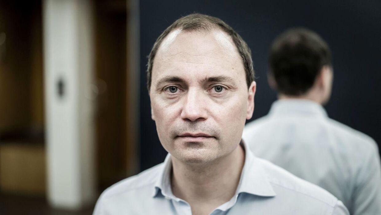 Tommy Ahlers sidder i Folketinget for Venstre.