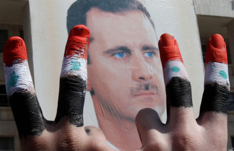Præsident Bashar al-Assad har stadig magten i Syrien efter en blodig borgerkrig.