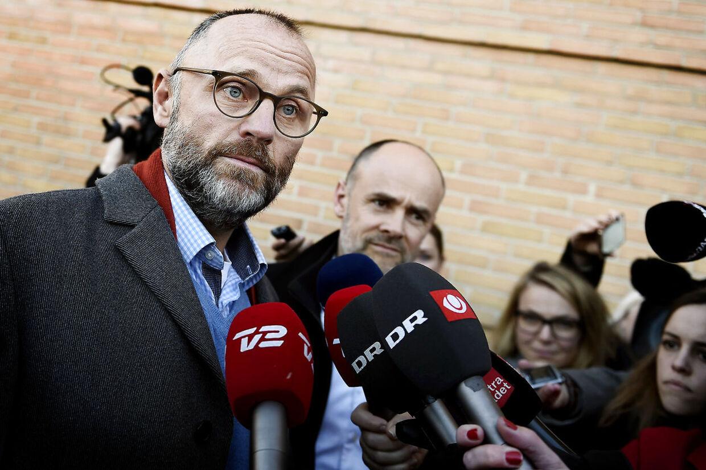 Henrik Qvortrup i forbindelse med retssagen i 2016.