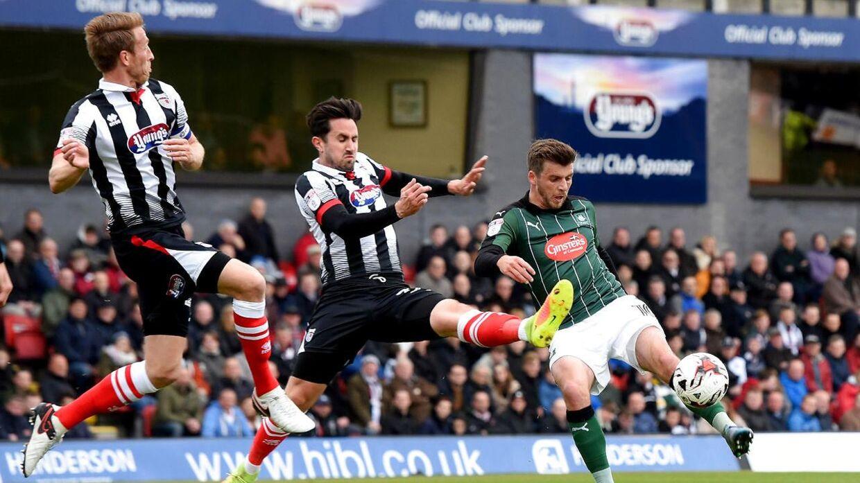 Grimsby tabte kampen med 1-0.
