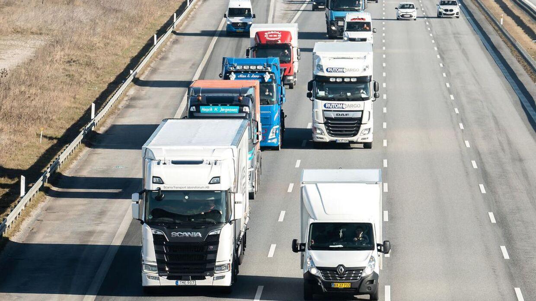 Según los camioneros daneses, algunos conductores de Europa del Este roban diésel a sus colegas daneses.
