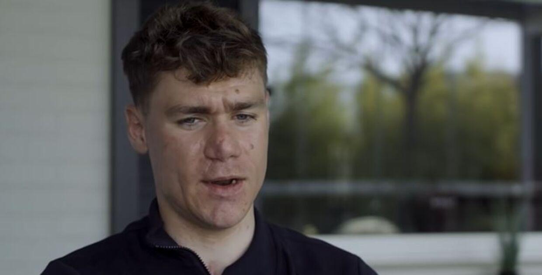 Fabio Jakobsen har været igennem flere operationer for at få rekonstrueret sit ansigt efter det voldsomme styrt sidste sommer.