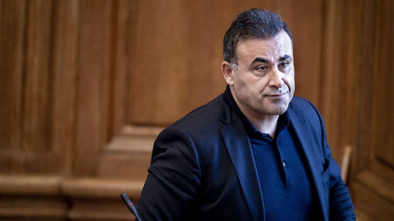 Det Konservative Folkepartis Naser Khader under møde i Folketingssalen 9. marts 2021.