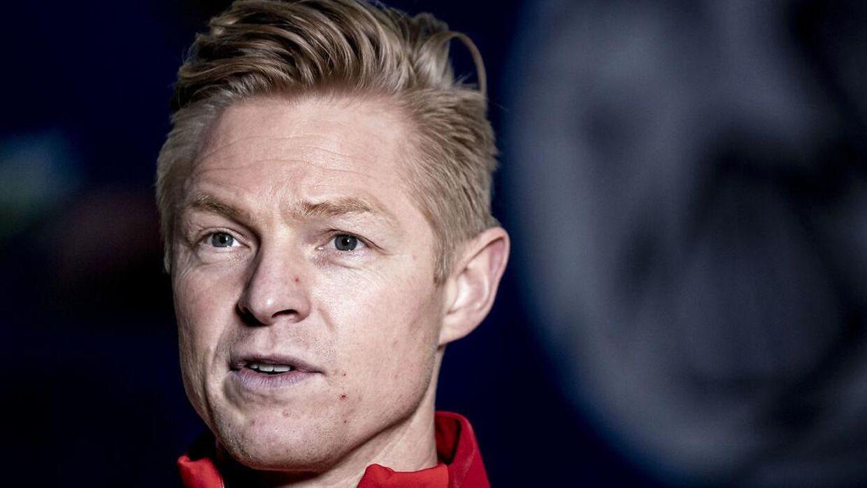 Landstræner Jesper Jensen.