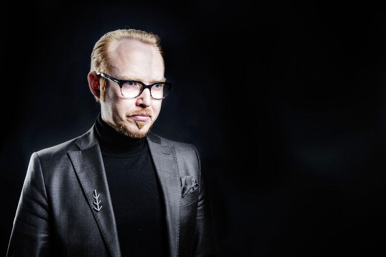 Jan Hellesøe er manipulator og manden bag programserien Fuckr med dn hjrne, som kører på DR3.
