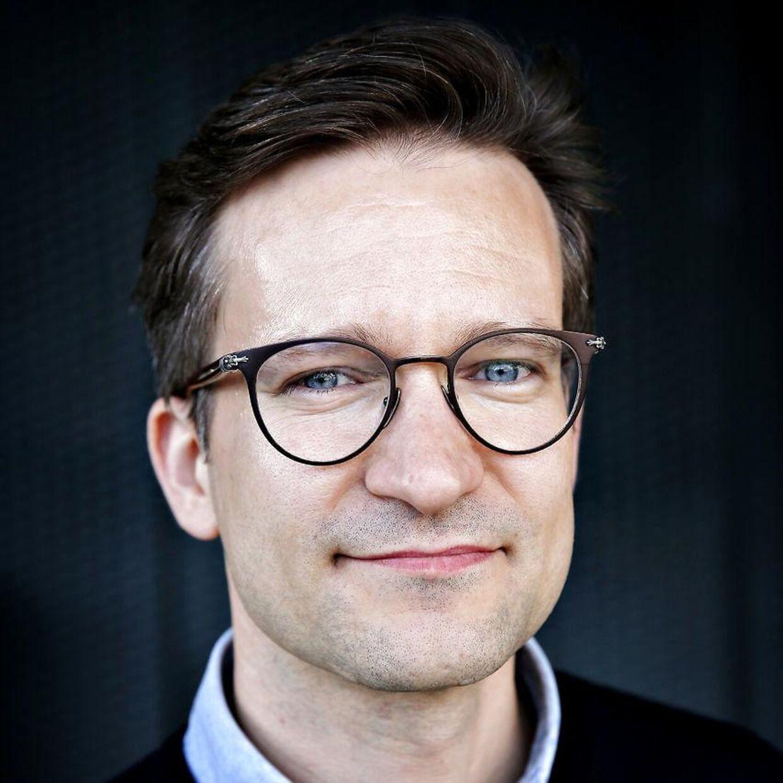 Facebooks kommunikationschef i Norden, Peter Münster.