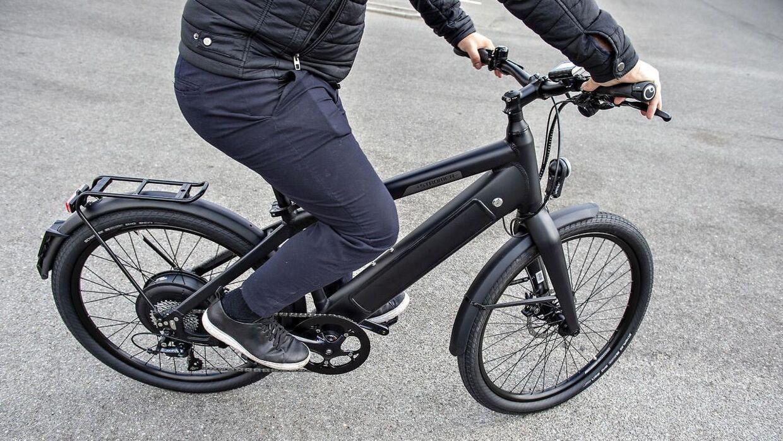 Her ses billedet af en elcykel