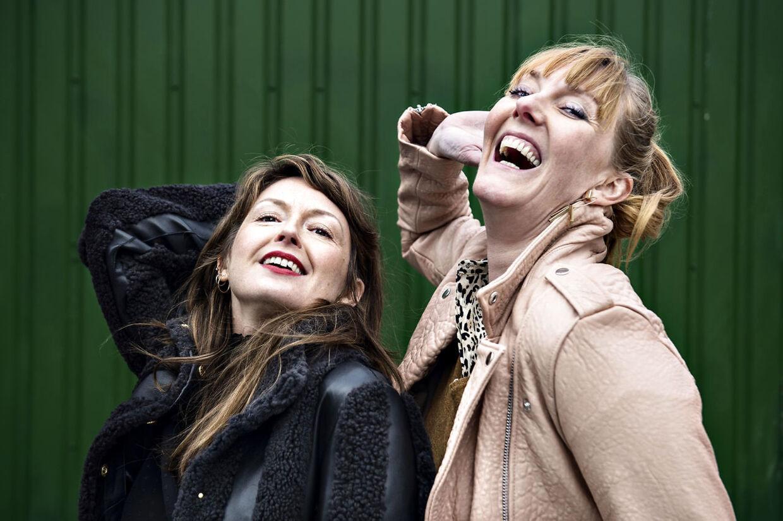 Sammen med Louise Mieritz har Ditte Hansen i mange år sikret os gode grin.