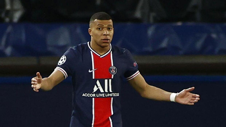 PSG-stjernen Kylian Mbappé.