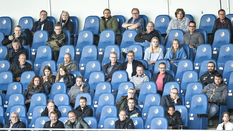 Der har tidligere været et begrænset antal tilskuere på stadion under den såkaldte Superliga-ordning.