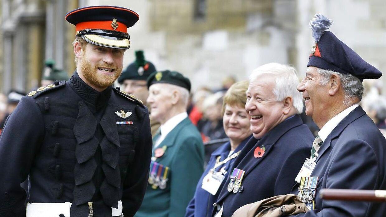 Prins Harrys militære karriere sluttede, da han forlod det britiske kongehus.