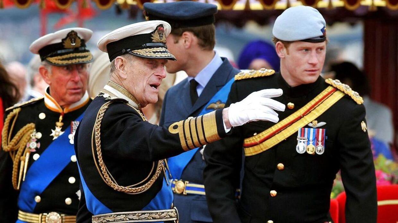 Prins Harry har måttet afgive sine militære titler som følge af sin exit fra kongehuset.