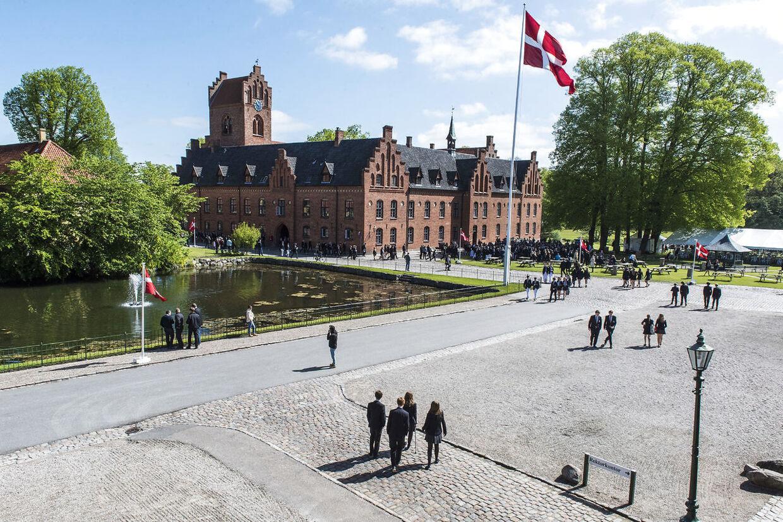Prins Christian bryder med tradition, når han tager på Herlufsholm kostskole. (Foto: Søren Bidstrup/Scanpix 2016)