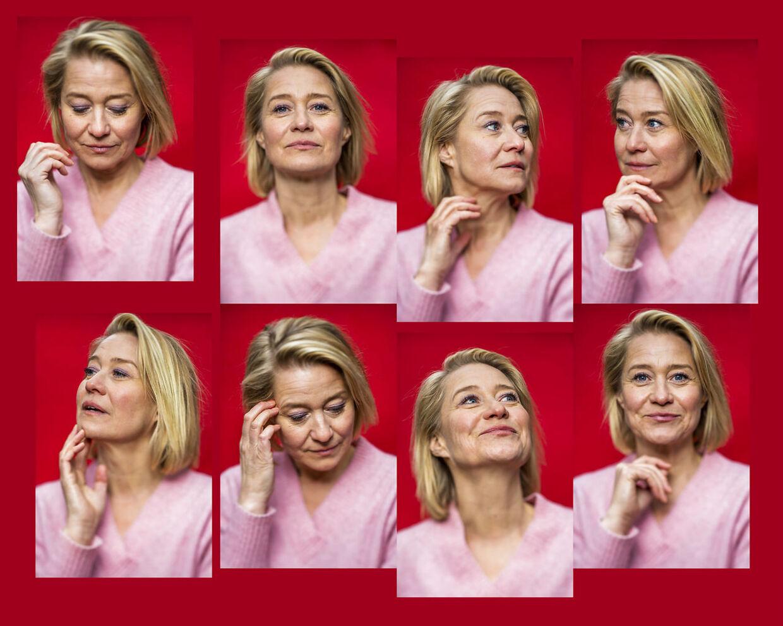 Trine Dyrholm, da hun spillede hovedrollen som Anne. Foto Søren Bidstrup.