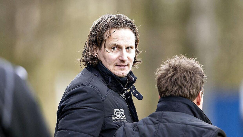 Hans Jørgen Haysen røg ud hos AGF, før han rigtig var begyndt. (Foto: Henning Bagger/Scanpix 2013)