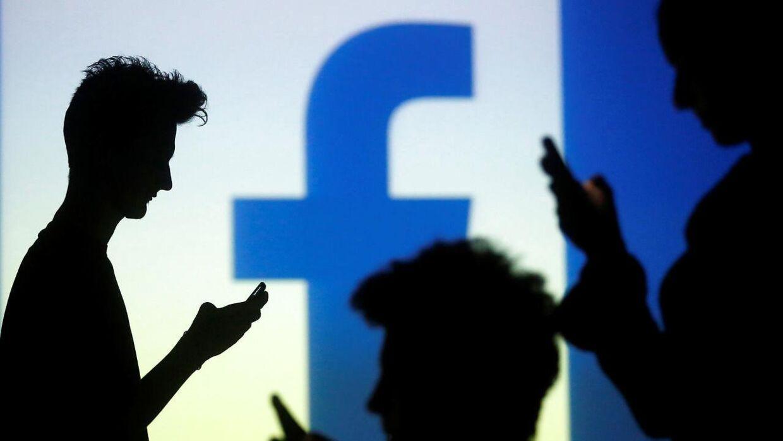 Arkivfoto: Et stort antal Facebook-brugere har fået deres data lækket, heriblandt danske ministre og efterretningsfolk.