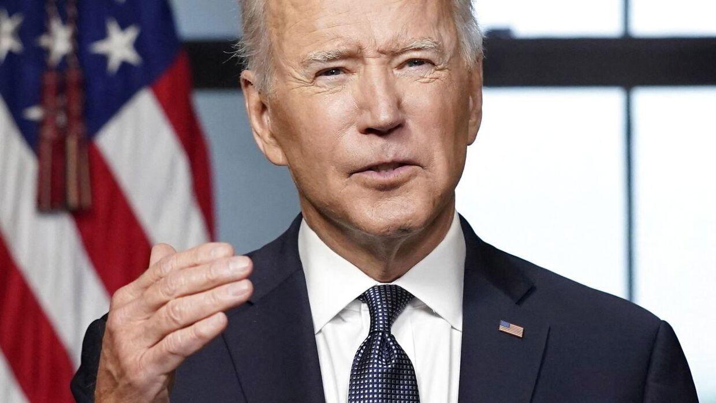 Arkivfoto. Joe Biden har nu indført sanktioner mod Rusland.