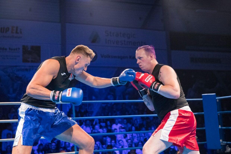 Sidste år kæmpede blandt andre Mathias Hjort og Moster Niller, hvor sidstnævnte blev knock outet efter få sekunder.