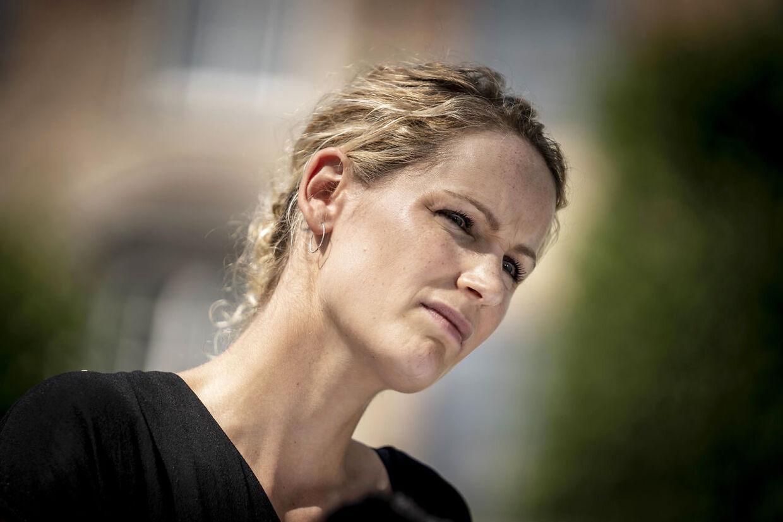 Pernille Skipper fik så mange hadske kommentarer onsdag, at hun for første gang måtte opgive at gå i dialog.