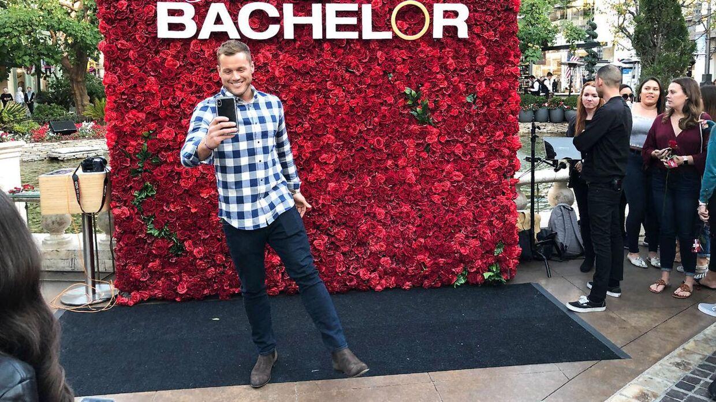 Colton Underwood i forbindelse med promoveringen af 'The Bachelor'.