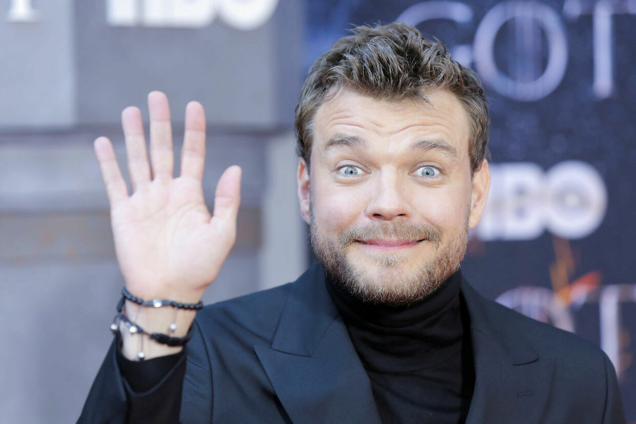 """Pilou Asbaek arrives for the premiere of the final season of """"Game of Thrones"""" at Radio City Music Hall in New York, U.S., April 3, 2019. REUTERS/Caitlin Ochs"""