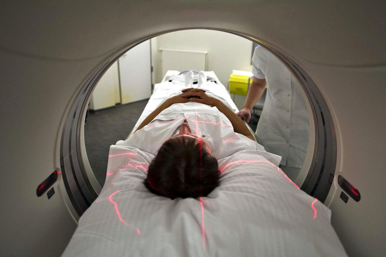 MR-Scanner på Aalborg Universitetshospital Syd.