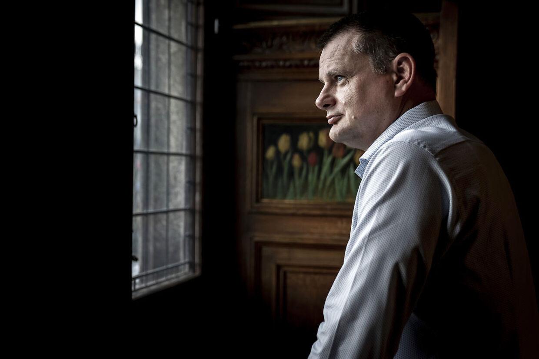 Her ses fungerende overborgmester Lars Weiss (S), på Københavns Rådhus.