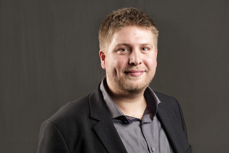 Kasper Sand Kjær, kulturordfører hos Socialdemokratiet.