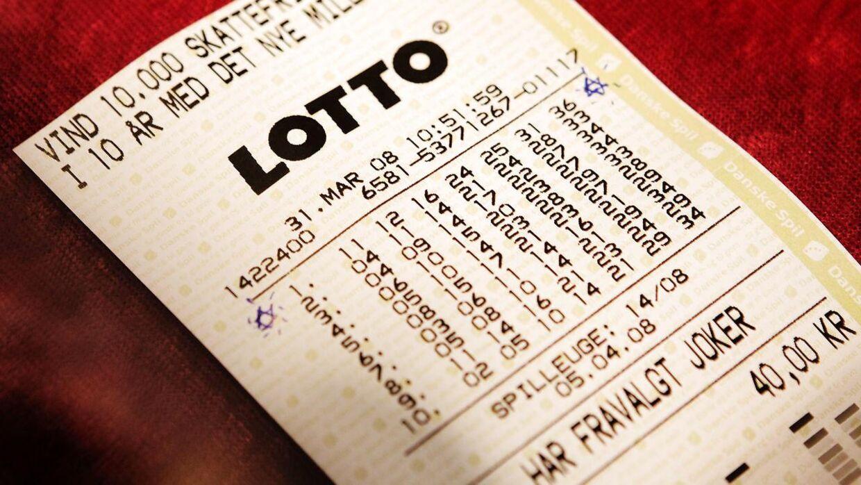 I alt er 47 danskere blevet Lottomillionærer i 2021. Foto: Scanpix
