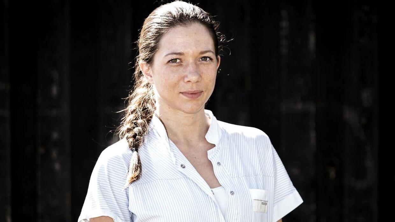 Sarah Mahfoud har læst til sygeplejerske ved siden af boksekarrieren.