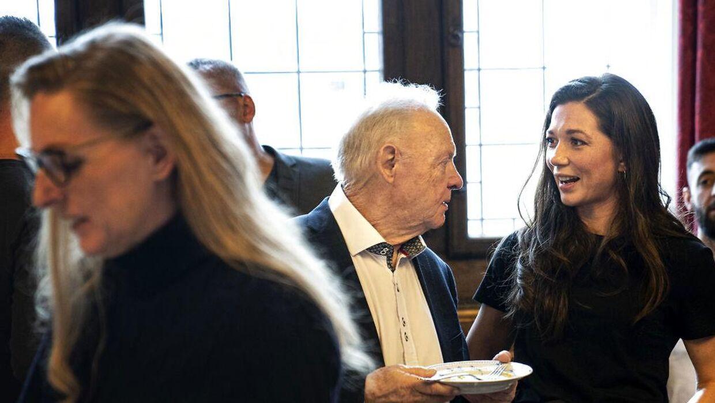 Mogens Palle og Sarah Mafoud har fra begyndelsen dannet et tæt partnerskab. (Foto: Ida Guldbæk Arentsen/Ritzau Scanpix)