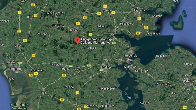 Det var her, at branden opstod 17. april. Foto: GoogleMaps