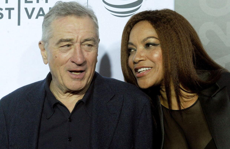 Robert De Niro og Grace Hightower i 2016.