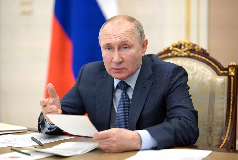 Pønser Vladimir Putin på et angreb på Ukraine?