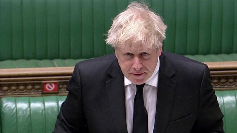Boris Johnson tager afstand fra planer om Super League. Reuters Tv/Reuters