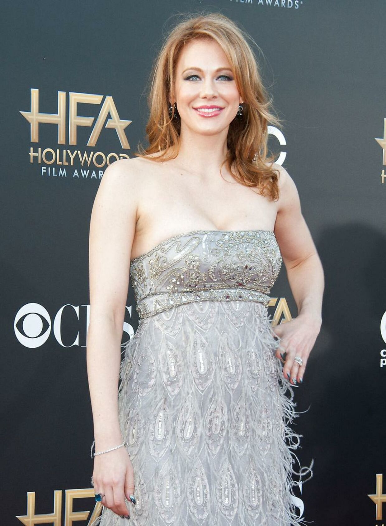 Maitland Ward på den røde løber til Hollywood Film Awards i november 2014.