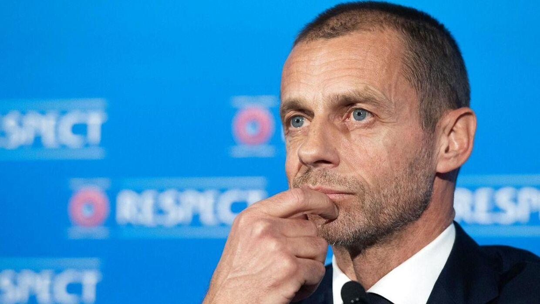 Uefa præsident Aleksander Ceferin har fordømt den nye Super League.