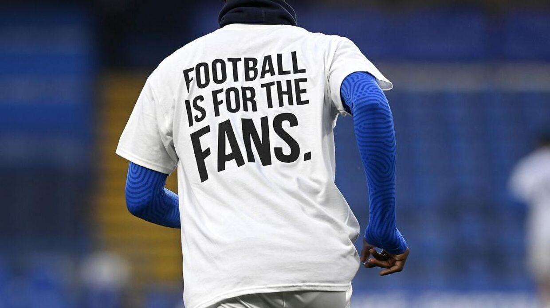 Klubber og fans har været utilfredse over en mulig European Super League.