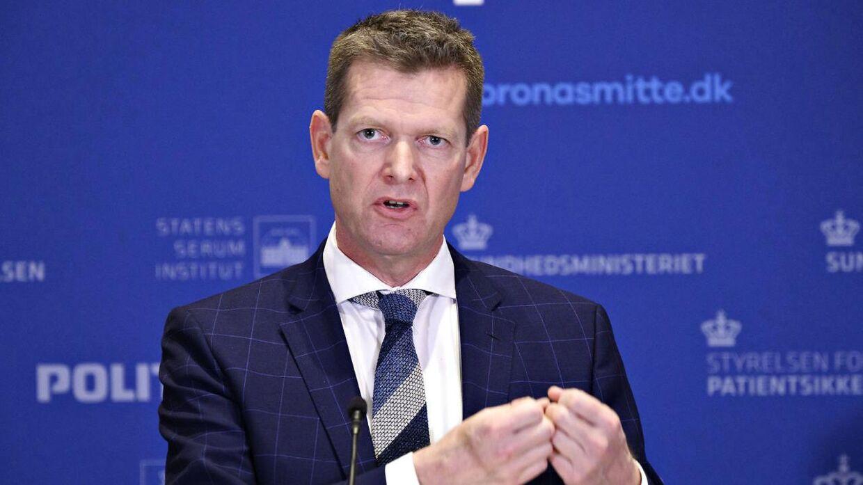 Direktør for Sundhedsstyrelsen Søren Brostrøm oplyste på under en pressebriefing om AstraZeneca 14. april 2021, at Danmark stopper brugen af vaccinen.