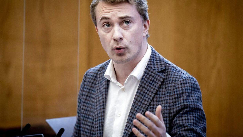 Dansk Folkepartis Morten Messerschmidt. (Foto: Liselotte Sabroe/Ritzau Scanpix)
