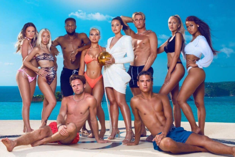 Deltagerne i 2021-sæsonen af svensk 'Paradise Hotel'.