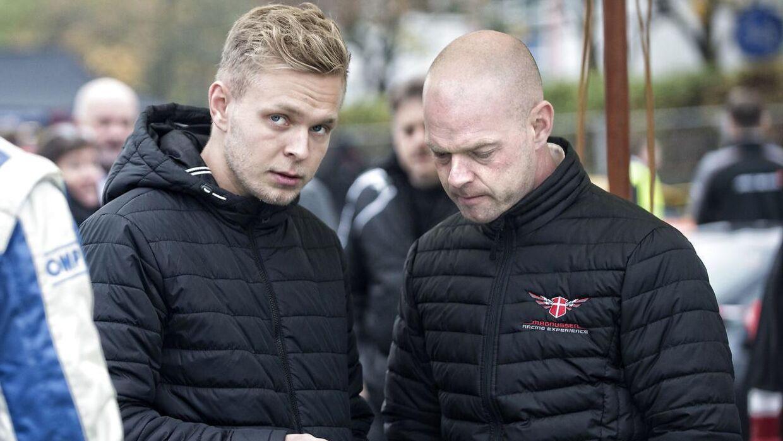 Jan Magnussen er rutineret i Le Mans, mens det bliver Kevin Magnussens debut.