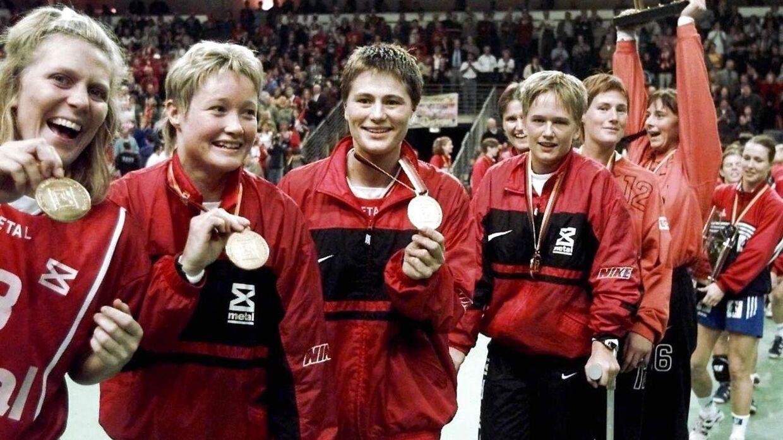Anette Hoffmann var med til at vinde adskillige medaljer.