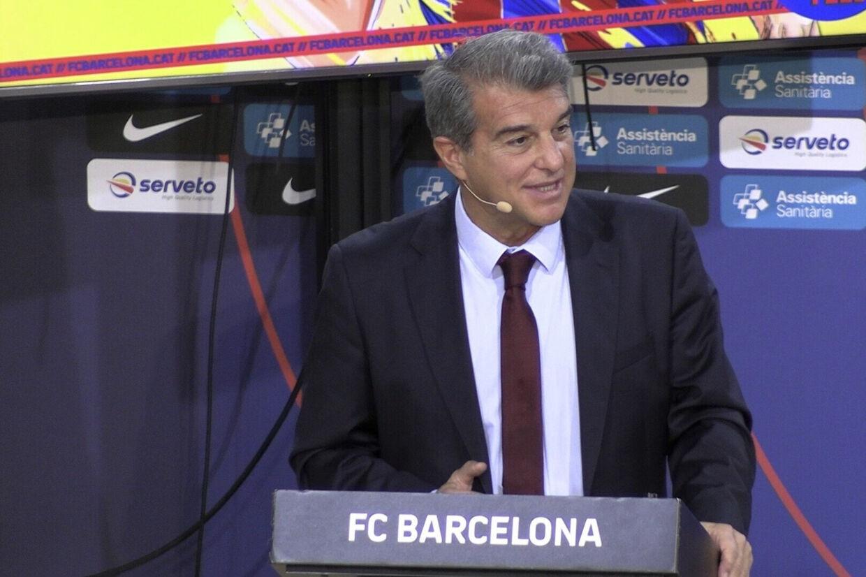Joan Laporta mener, at det er nødvendigt for de store spanske klubber at diskutere den økonomiske situation. (Arkivfoto) Europa Press Tv/Ritzau Scanpix
