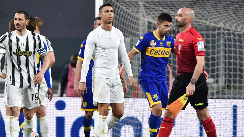 Angriberen skulle være utilfreds i Juventus.