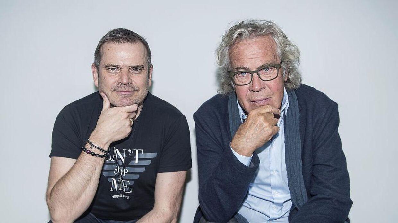 Jørgen Leth og Hans Pilgaard er klar til at drage på nye eventyr sammen.