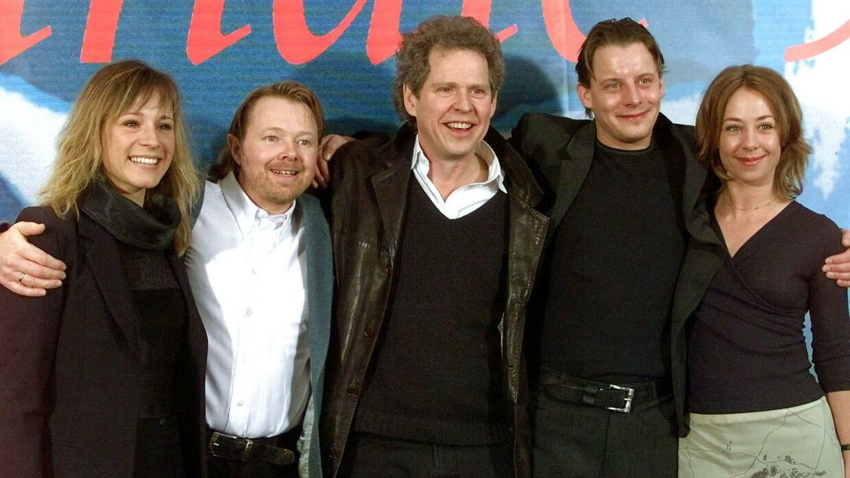 Søren Kragh-Jacobsen i 1999, da 'Mifunes sidste sang' vandt Sølvbjørnen i Berlin.