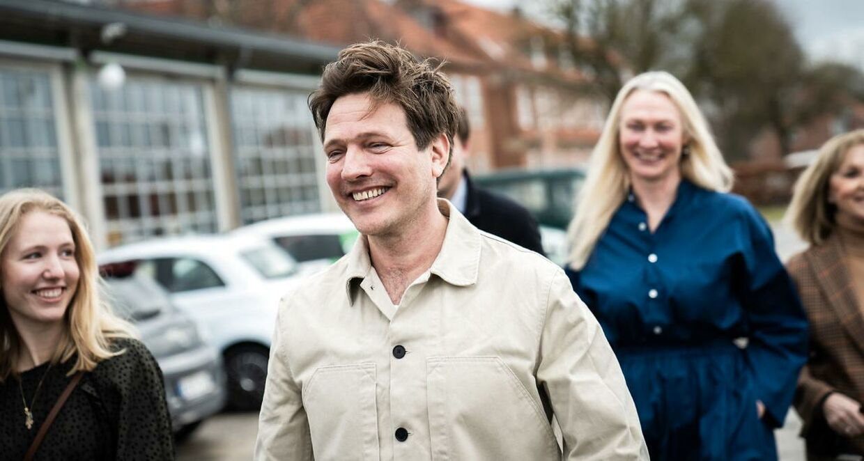 Thomas Vinterberg til Oscar-nomineringerne hos Zentropa i Avedøre, mandag den 15. marts 2021.